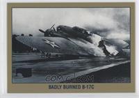 Badly Burned B-17C