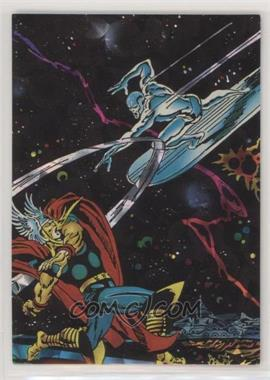 1992 Comic Images Silver Surfer All-Prism - [Base] #36 - Thor