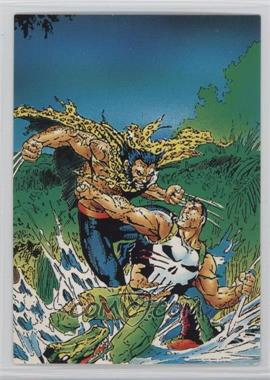 1992 Comic Images Wolverine: From Then 'Til Now II - [Base] #67 - Punisher