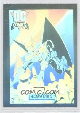 1992 Impel DC Comics DC Cosmic - Holograms #DCH6 - Hawkman