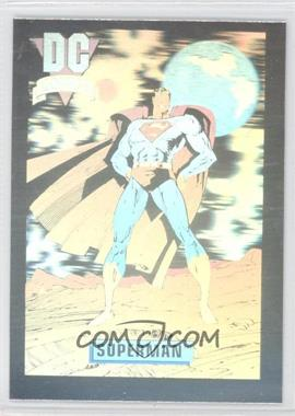 1992 Impel DC Comics DC Cosmic - Holograms #DCH8 - Superman
