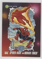 Spider-Man, Human Torch [EX to NM]