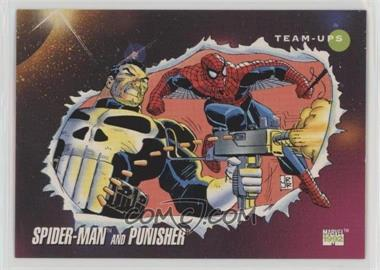 1992 Impel Marvel Universe Series 3 - [Base] #73 - Spider-Man, Punisher