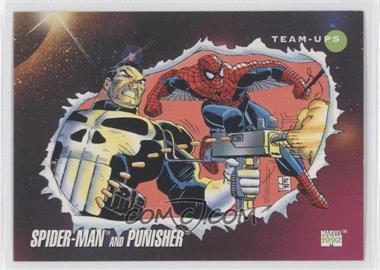1992 Impel Marvel Universe Series 3 - [Base] #73 - Spider-Man, Punisher