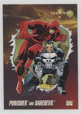 1992 Impel Marvel Universe Series 3 - [Base] #92 - Punisher, Daredevil