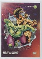 Hulk, Thing