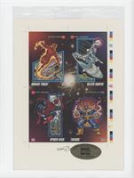 Human Torch, Silver Surfer, Spider-Man, Thanos /30000