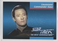 Lieutenant Commander Data
