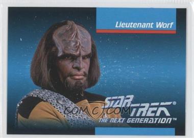 1992 Impel Star Trek The Next Generation - [Base] #007 - Lieutenant Worf