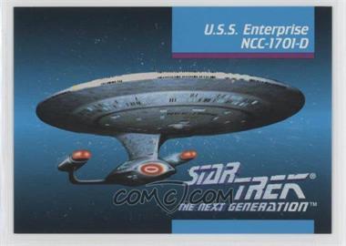 1992 Impel Star Trek The Next Generation - [Base] #00A - U.s.s. Enterprise Ncc-1701-d