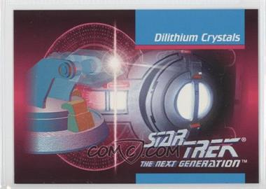 1992 Impel Star Trek The Next Generation - [Base] #00C - Dilithium Crystals