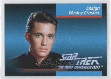 1992 Impel Star Trek The Next Generation - [Base] #012 - Ensign Wesley Crusher