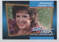 Ambassador Lwaxana Troi