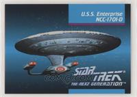 U.s.s. Enterprise Ncc-1701-d [EX to NM]