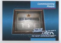 Commissioning Plaque