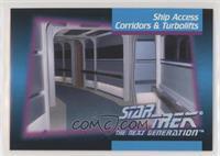 Ship Access Corridors & Turbolifts