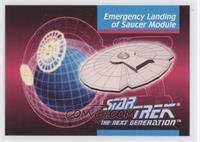 Emergency Landing Of Saucer Module
