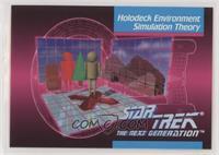 Holodeck Environment Simulation Theory