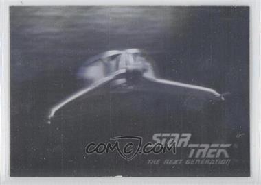 1992 Impel Star Trek The Next Generation - Holograms #01H - Klingon Bird-Of-Prey