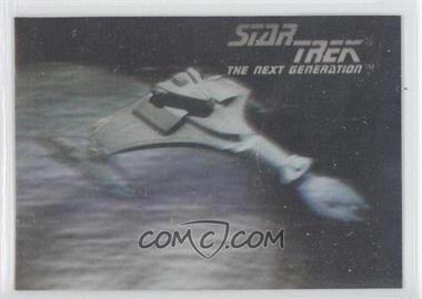 1992 Impel Star Trek The Next Generation - Holograms #02H - Klingon Vor'Cha Class Attack Cruiser