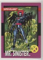 Mr. Sinister [Noted]