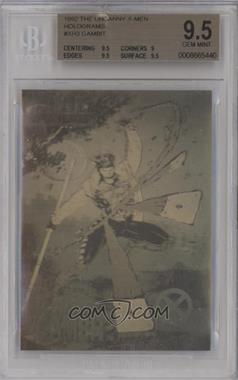 1992 Impel X-Men - Holograms #XH-3 - Gambit [BGS 9.5 GEM MINT]