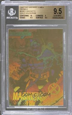 1992 Impel X-Men - Promo Holograms - Gold #MA - Magneto [BGS9.5GEMMINT]
