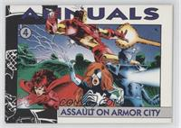 Assault on Armor City (Ironman, Darkhawk, Avengers)