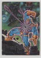 Silver Surfer vs. Thanos [Noted]