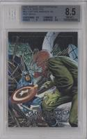 Captain America vs. Red Skull [BGS 8.5 NM‑MT+]