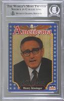 Henry Kissinger [BASCertifiedBGSEncased]