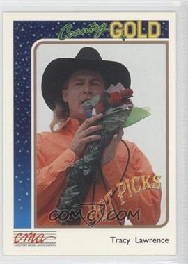 1992 Sterling Cards CMA Country Gold - [Base] #8 - Tracy Lawrence