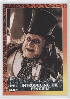 1992 Topps Batman Returns - [Base] #3 - Introducing the Penguin
