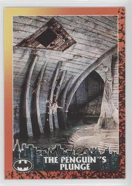 1992 Topps Batman Returns - [Base] #81 - The Penguin's Plunge