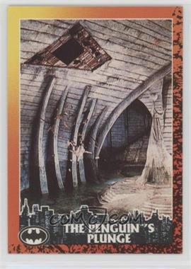1992 Topps Batman Returns - [Base] #81 - The Penguin's Plunge