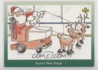 Santa's New Sleigh [EX to NM]
