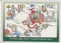 The New Upper Deck Football Cards are Here!