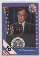 Self Announcement - Candidate George Bush