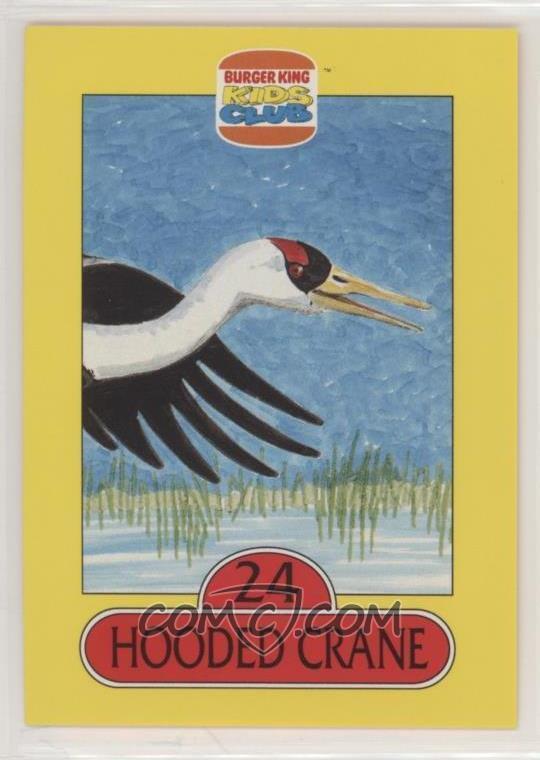 1993 Burger King Kids Club Save The Animals 2: Birds - [Base
