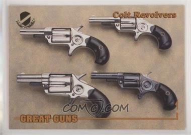 1993 Performance Years Great Guns - [Base] - Gold #44 - Colt Revolvers