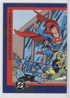 Superman, Booster Gold, Blue Beetle