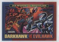 Darkhawk Vs. Evilhawk