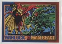 Warlock Vs. Man-Beast