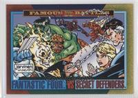 Fantastic Four Vs. Secret Defenders
