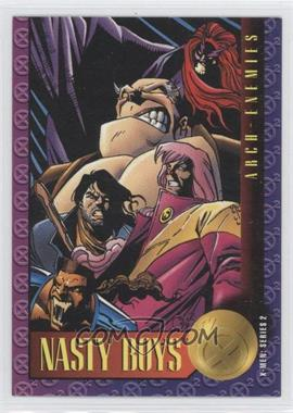 1993 SkyBox Marvel X-Men: Series 2 - [Base] #54 - Nasty Boys