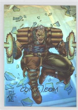 1993 SkyBox Marvel X-Men: Series 2 - Holithogram #H-1 - Cable