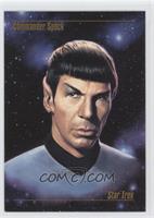 Commander Spock
