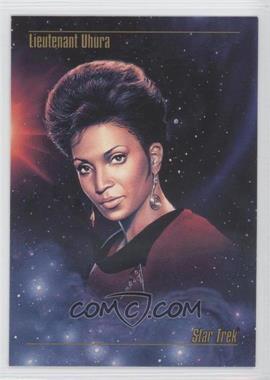 1993 SkyBox Master Series Star Trek - [Base] #04 - Lieutenant Uhura