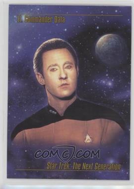 1993 SkyBox Master Series Star Trek - [Base] #12 - Lt. Commander Data