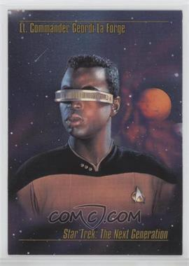 1993 SkyBox Master Series Star Trek - [Base] #13 - Lt. Commander Geordi La Forge